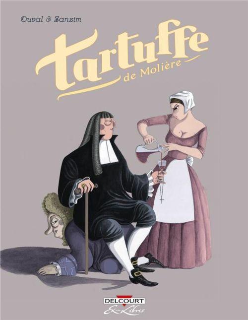 Tartuffe, de Molière, en bande dessinée.