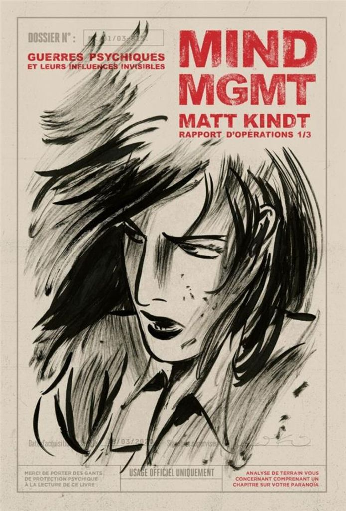 MIND MGMT T1/3 de Matt Kindt, Monsieur Toussaint Louverture
