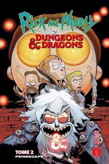 Rick & Morty VS. Dungeons & Dragons T2 de Patrick Rothfuss, Hi Comics