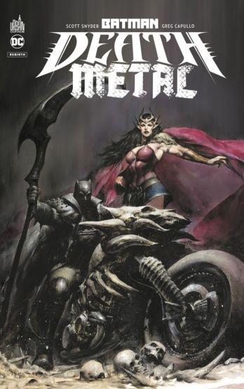 Batman- Death metal de Scott Snyder, James Tynion IV, Greg Capullo & Co., Urban Comics