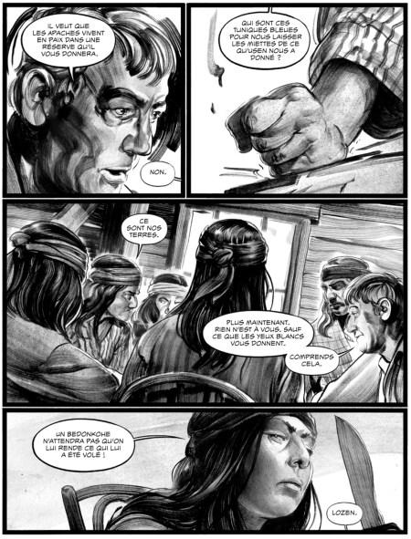Indeh par Ethan Hawke & Greg Ruth, Hachette Comics