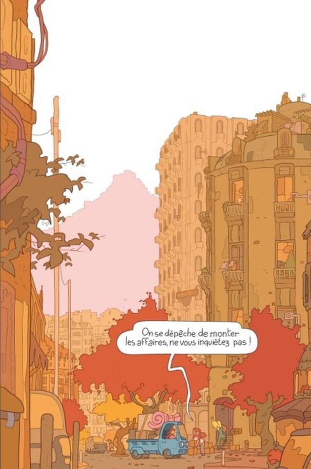 Lou Sonata de Julien Neel, Glénat