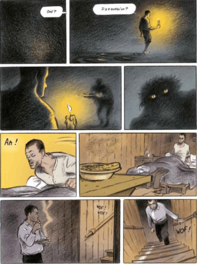 L'île du docteur Moreau de H.G. Wells, par Joël Legars, Stéphane Tamaillon et Anna Conzatti, Delcourt, Coll. Ex-libris
