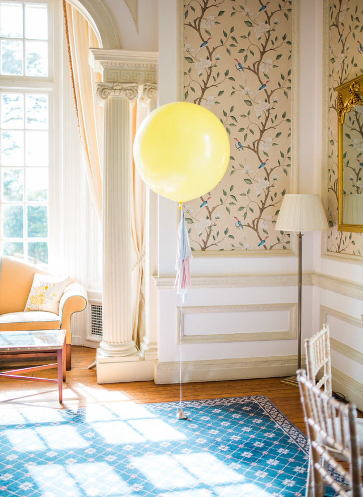 Bubblegum Balloons at Hedsor House