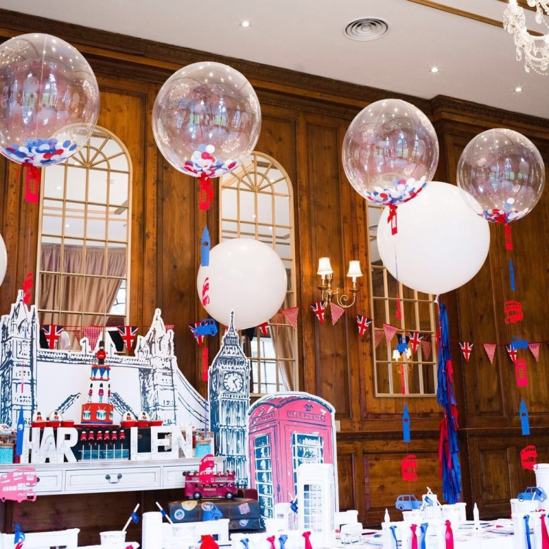 Bubblegum Balloons with Dazzle and Fizz