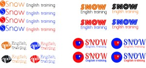 logo Snow English training