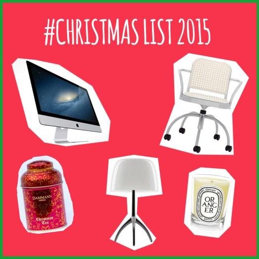christmas list 2015