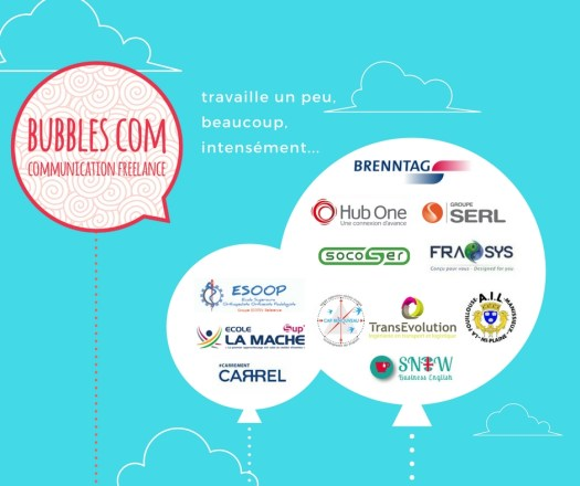 logo clients, bubbles com
