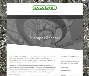 page web SOCOSER, bubbles com, éviter les pièges de la création de site internet