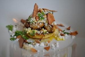 Foie gras i æbler