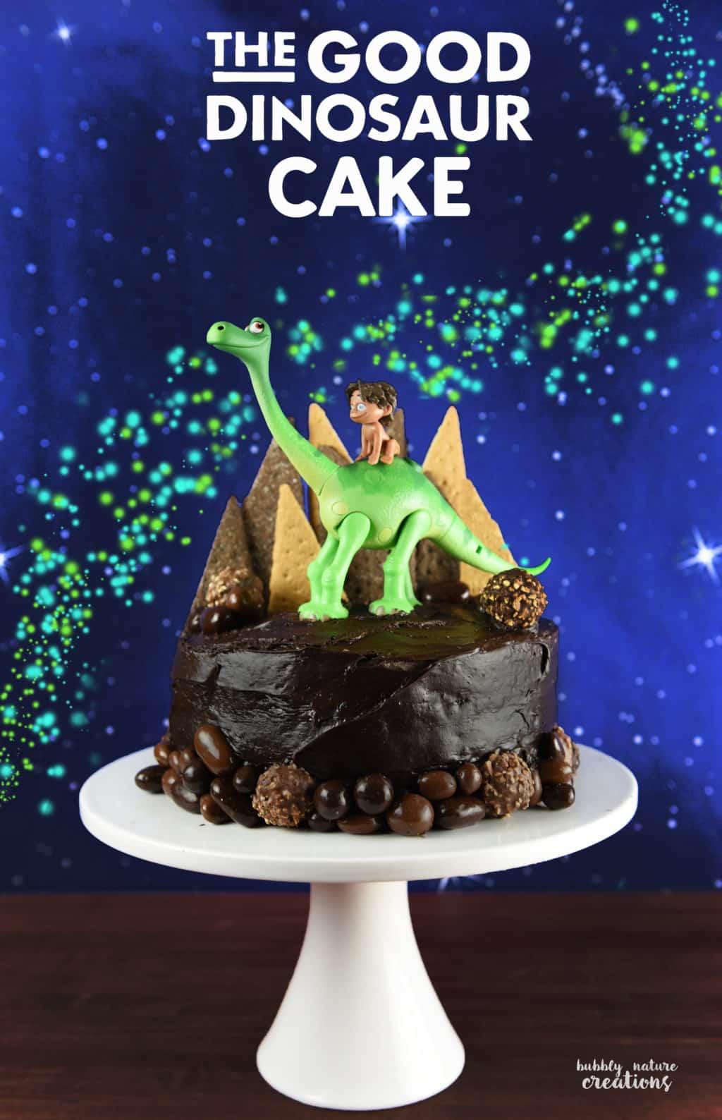 The Good Dinosaur Cake Easy Tutorial