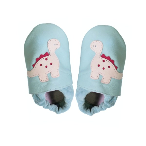 aqua dino baby leather shoes