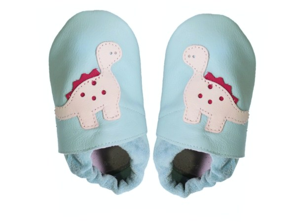 aqua dino baby leather shoes