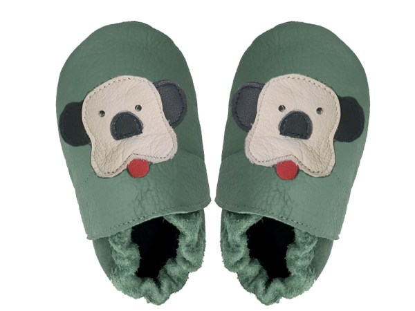 forest puppies baby leather shoes