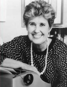 No, that is not me- but it is Erma Bombeck, whose writing I admire...