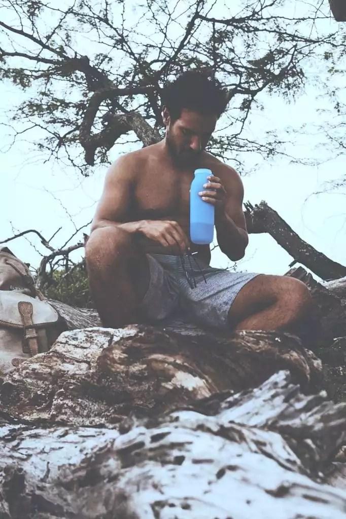 outdoor water bottle, outdoor journal, camping, silicone water bottle, outdoor