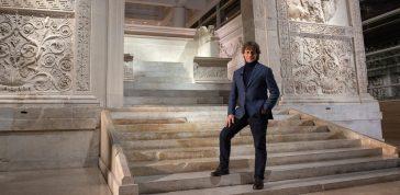 ULISSE: ALBERTO ANGELA TORNA SU RAI1 E FESTEGGIA ROMA NEL GIORNO DELLA SUA FONDAZIONE