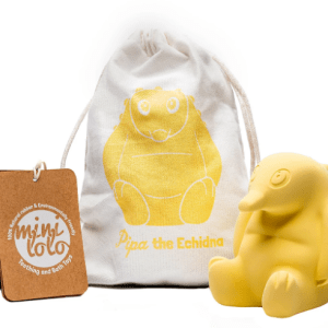 pipa the echidna yellow bath and teething toys for baby sydney australia