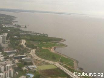 แม่น้ำ La Plata บริเวณชานเมืองบัวโนสไอเรส