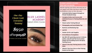 Classic Lashes Training ONE-DAY