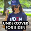 WATCH: Conservative Influencer Goes Undercover As A Biden Supporter In A Blue City... People's Reactions Shock Her