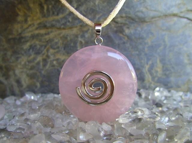 kwarc różowy talizman miłosny
