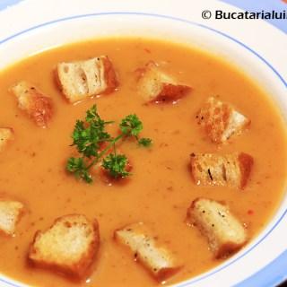 Zupa de chimin. Traditionala…aproape, dar nu-i.