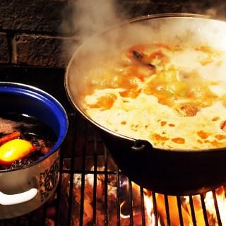 Gulas de porc si vita cu cartofi. Ceauneala, adica o reteta la ceaun.