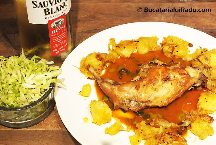 friptura de iepure reteta culinara