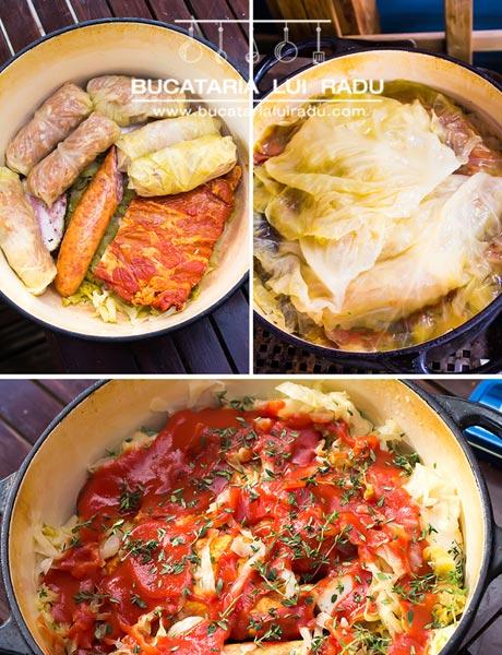 sarmale traditionale preparare