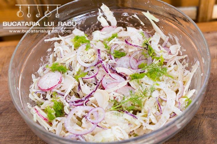 reteta salata coleslaw