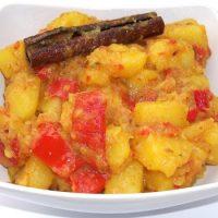 Subji Ayurvedic de Cartofi cu Ardei capia