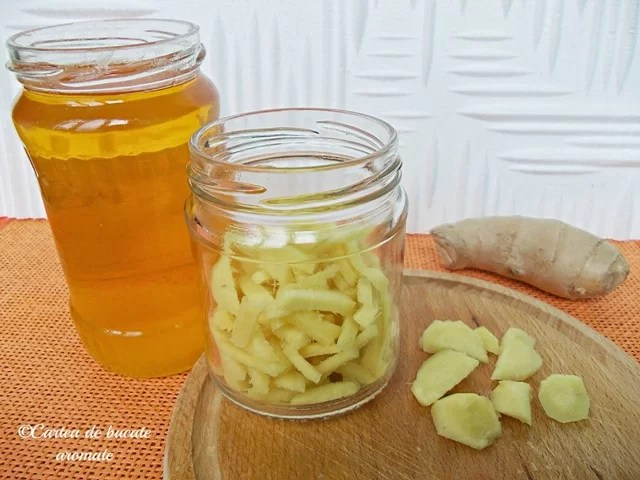 ghimbir cu miere