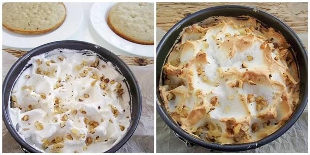 Tort cu crema de serbet