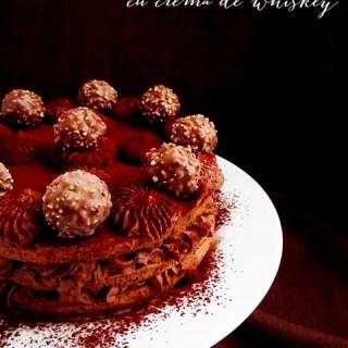 Tort de ciocolată cu whiskey