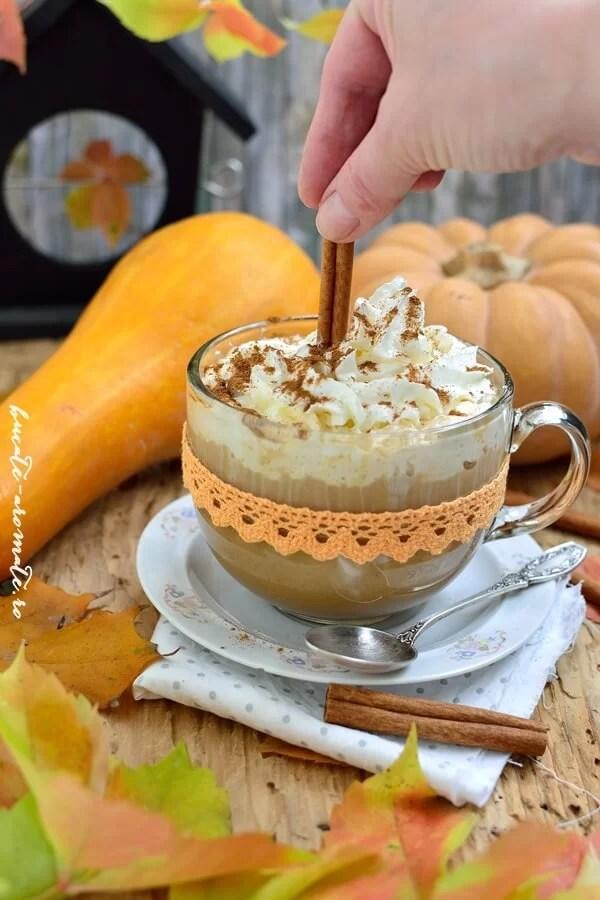 Pumpkin spice latte - Starbucks style