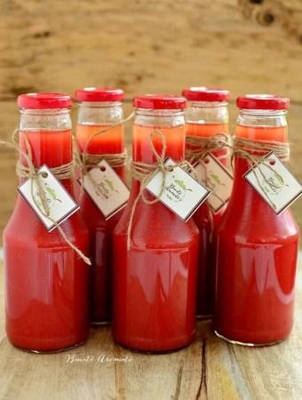 Suc de roşii rapid, 100% natural