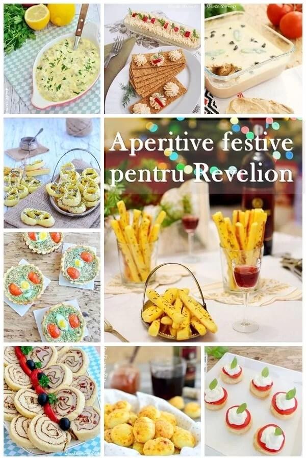Aperitive festive pentru Revelion – selecţie de reţete pentru toate gusturile
