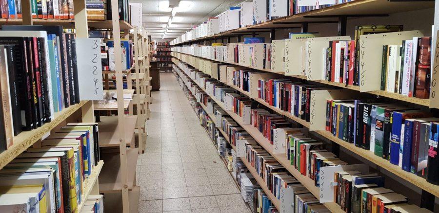 Bücherlager