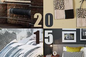 Тенденции в дизайне интерьера 2015 г.