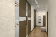 Дизайн трехкомнатной квартиры, г. Киев Вид из входной двери.