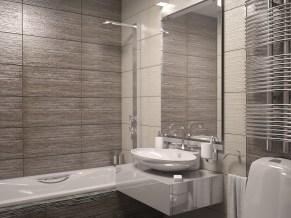 Дизайн ванной комнаты, г. Буча