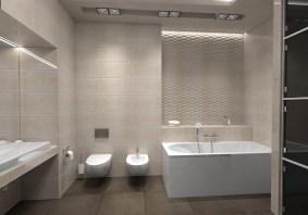 Дизайн проект ванной комнаты, г. Киев. Плитка Fap Ceramiche