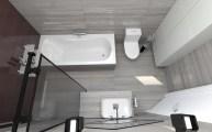 Дизайн ванной комнаты в частном доме г.Буча