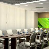 Дизайн интерьера г. Ирпень. Малый зал заседаний.