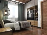 Дизайн интерьера. Светильники Nowodvorski в спальне в стиле LOFT