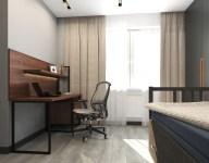 Комната для подростка. Дизайн в стиле LOFT, г. Киев