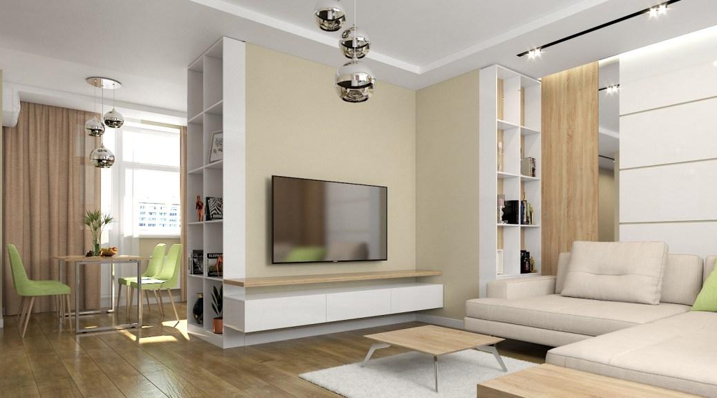 Дизайн гостиной в современном стиле.
