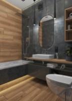 Дизайн ванной в 2-х комнатной квартире.