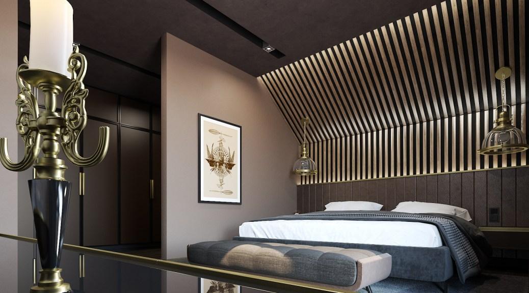 Спальня в стиле SteamPunk